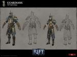 RIFT PVP Guardian Mage Armor Concept Art