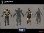 RIFT PVP Guardian Rogue Armor Concept Art