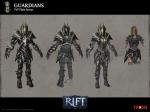 RIFT PVP Guardian Warrior Armor Concept Art