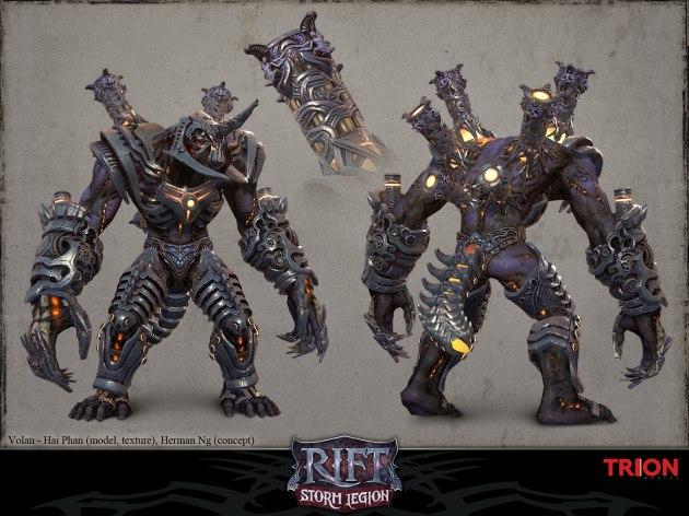 RIFT Concept Art - Volan Armored Model
