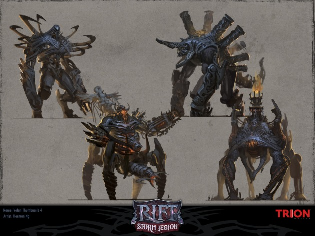 RIFT Concept Art - Volan Iterations 4
