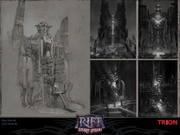 RIFT Concept Art - Volan Jail