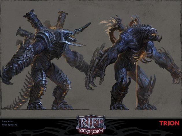 RIFT Concept Art - Volan