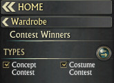 Rift Store Wardrobe Contest Winners Section