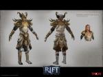 RIFT Cleric Infernal Dawn Armor Set Concept Art
