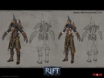 RIFT Mage Infernal Dawn Armor Set Concept Art