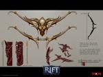 RIFT Infernal Dawn Bow Concept Art