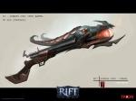 RIFT Infernal Dawn Gun Concept Art