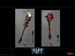 RIFT Infernal Dawn Maces Concept Art