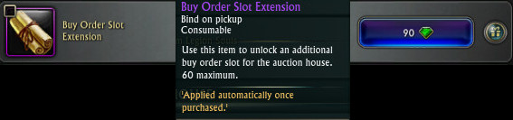 Buy Order Slot Extension