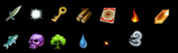 Minions Attributes Icons