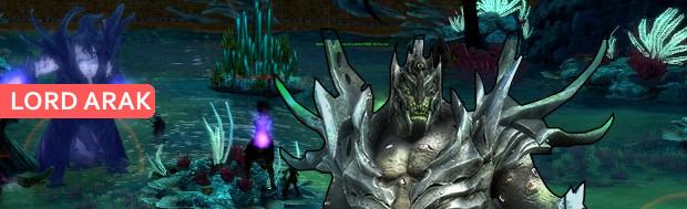 Nightmare Coast Lord Arak Banner