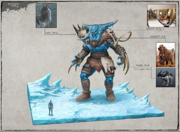 RIFT 3.0 Ice Giant Concept Art