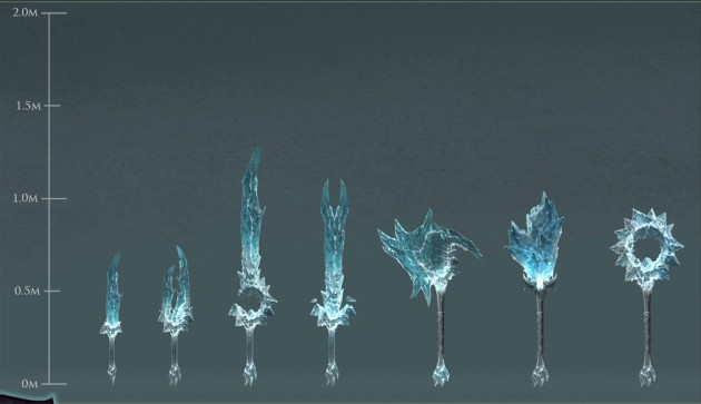 RIFT 3.0 Ice Weaponry Concept Art