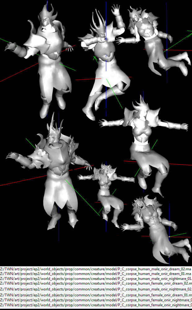 RIFT 3.0 Nightmare Tide Onir Corpse Models