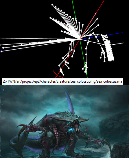 RIFT 3.0 Nightmare Tide Sea Colossus Rig