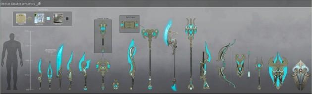 RIFT 3.0 Onir Dream Weaponry Concept Art