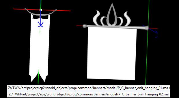 RIFT 3.0 Onir Hanging Banner Models