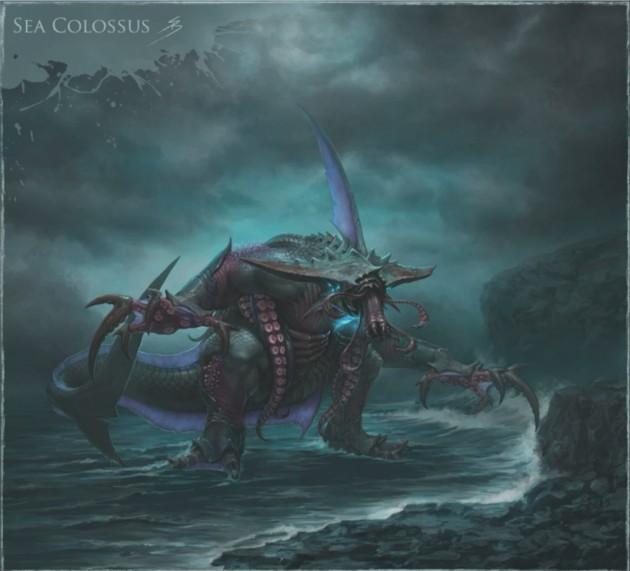 RIFT 3.0 Sea Colossus Concept Art