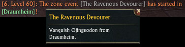 RIFT 3.0 Zone Event The Ravenous Devourer
