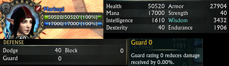 RIFT Changes to HP and GUARD