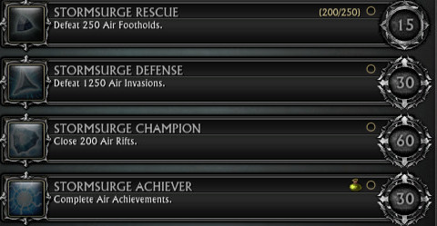 Air Achievements Nightmare Tide