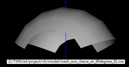 AoE Cleave Air Mesh