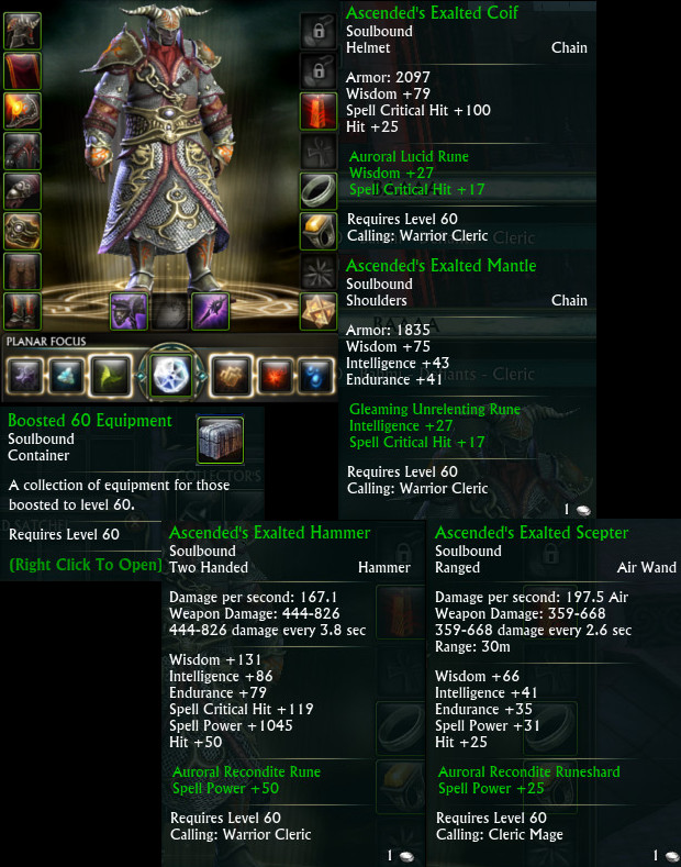 Boosted 60 Equipment