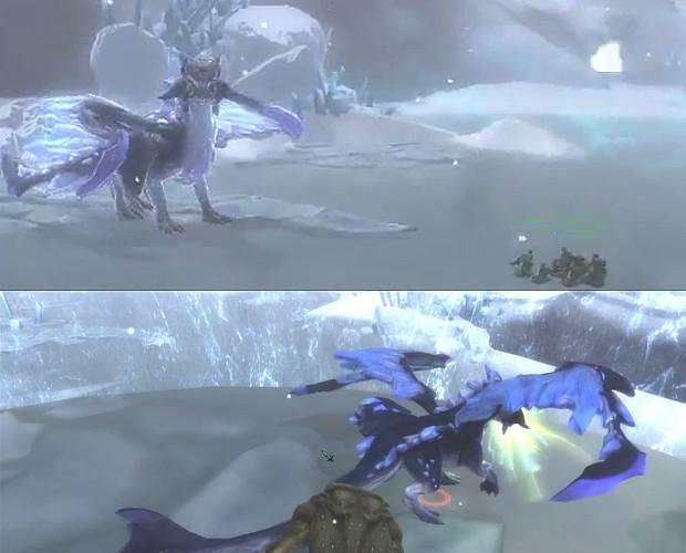 Glacial Maw Scenery Shigoroth