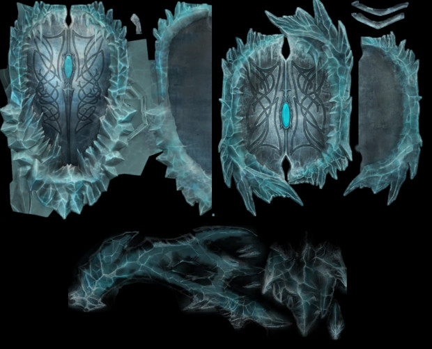 Glacial Shield + Bow Skins Datamined