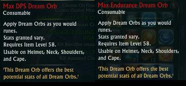 Max Dream Orbs
