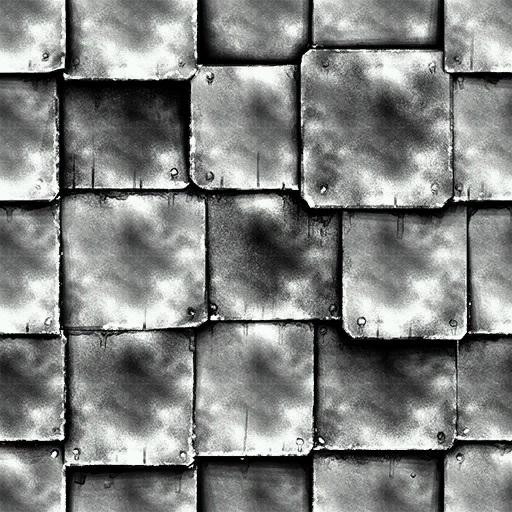 Metal Tiles Skin