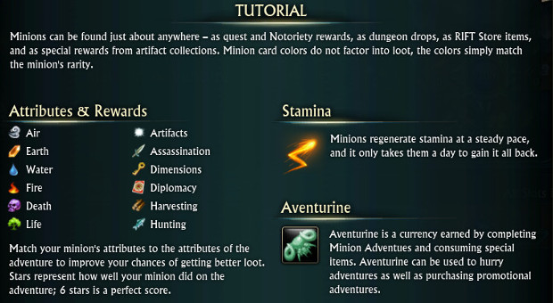 Minions System Tutorial