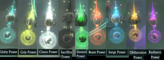 Nightmare Tide Powerup Nodes