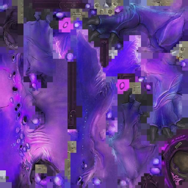 Purple Thresher Mount Skin