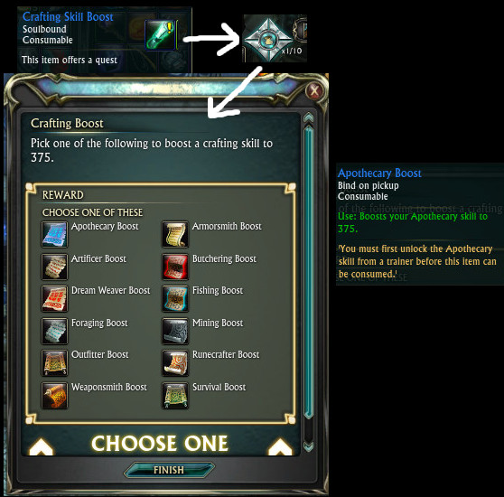 RIFT Instant Level 60 Boost Crafting Skill Boost