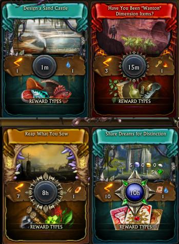 RIFT Minions Closer Look Adventure Cards