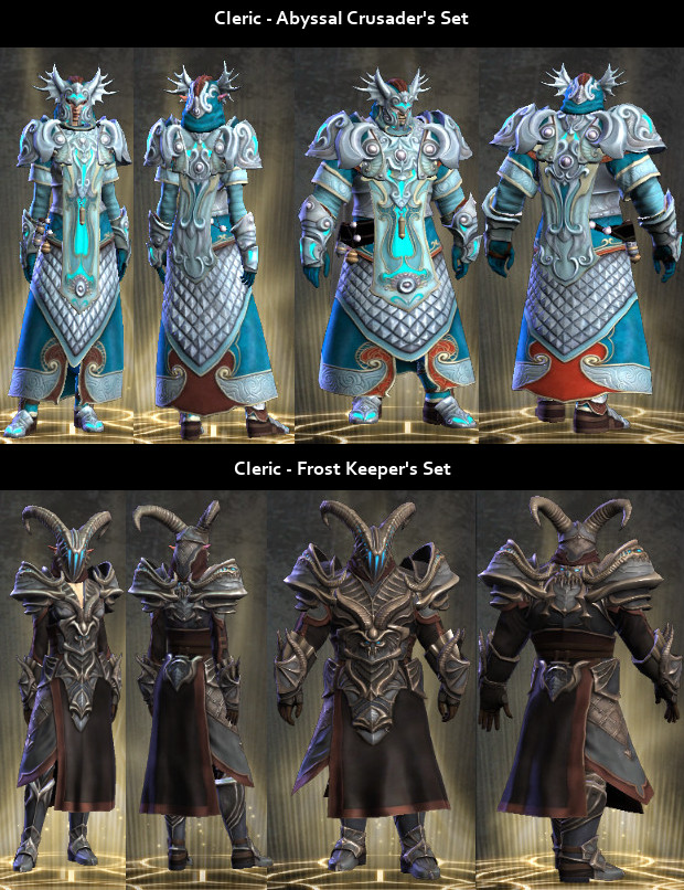RiftGrate Cleric 3.0 Armor Sets Visual