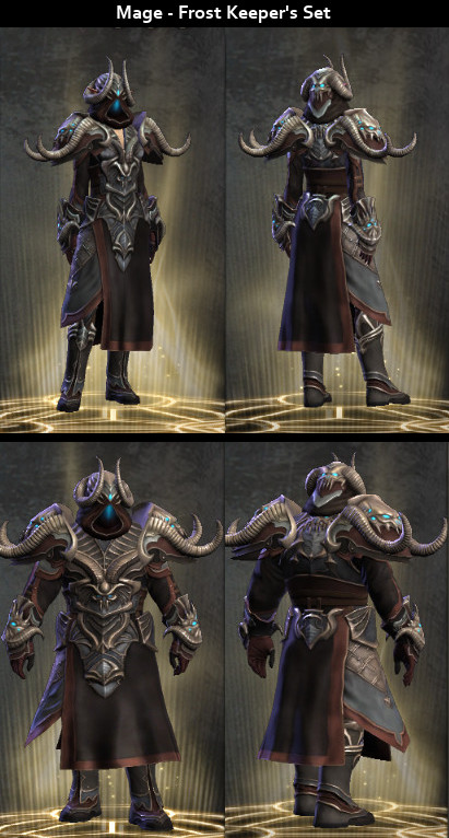 RiftGrate Mage 3.0 Armor Sets Visual
