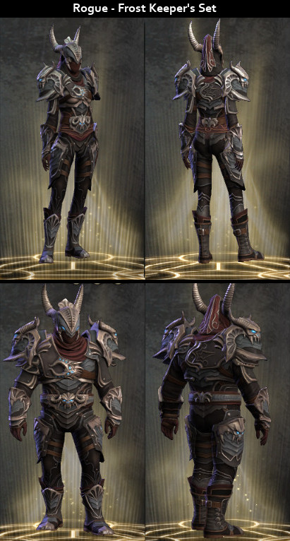 RiftGrate Rogue 3.0 Armor Sets Visual