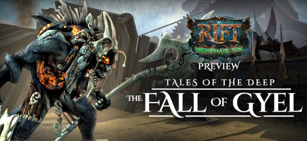 Tales of the Deep The Fall of Gyel Banner