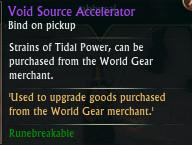 Void Source Accelerator