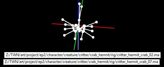Critter Hermit Crab Rig