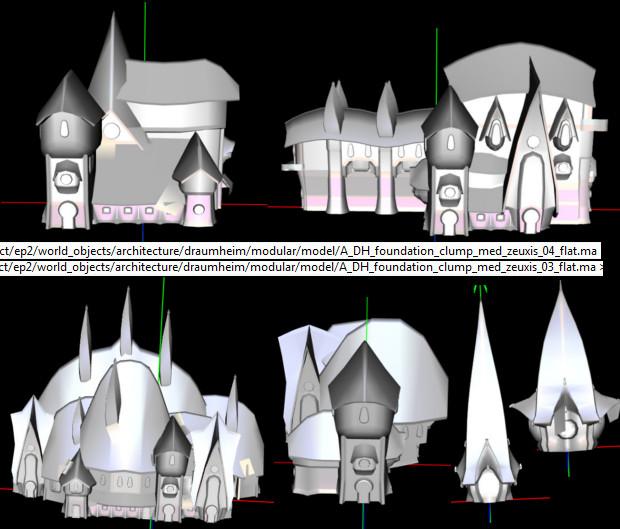 Draumheim Zeuxis District Models