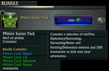 Minion Starter Pack