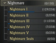 Nightmare Seals Achievement SubCategory