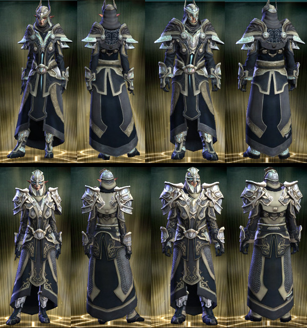 Nightmare Tide Crafting Armor Models Mage and Cleric