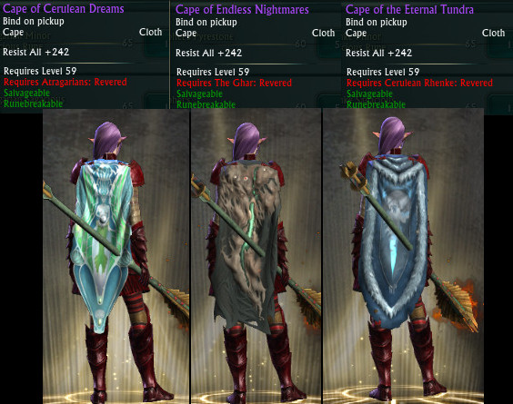 Nightmare Tide Notoriety Capes