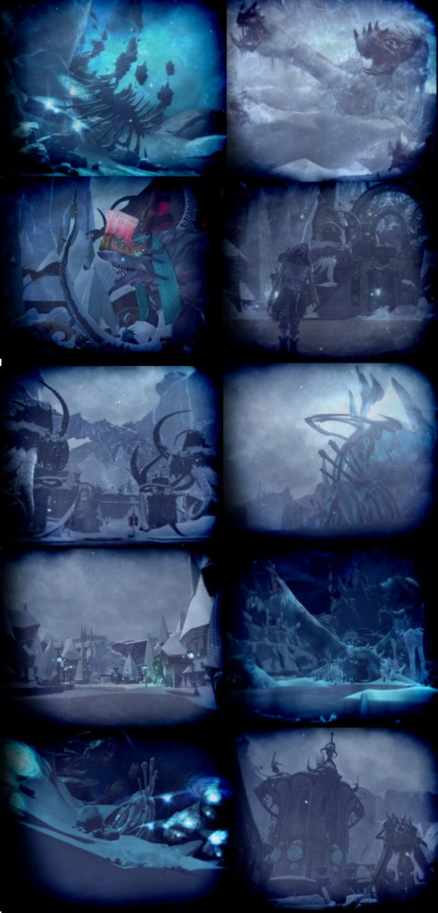 Tarken Glacier Loading Screens