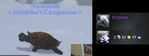 Tetromino Companion Pet